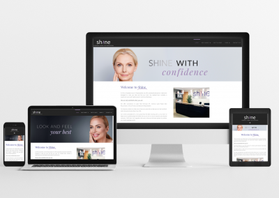 Shine Ottawa – Skin Care Website Design