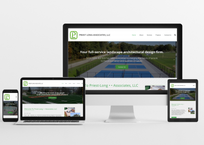 Priest Long Associates LLC – Landscape Architect Website Design