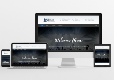The Lifeway Pentecostals of Sidney – Church Website Design