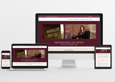 Moseman Law Office – Law Firm Website Design