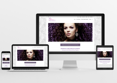 Preston's Beauty Academy – Beauty School Website Design