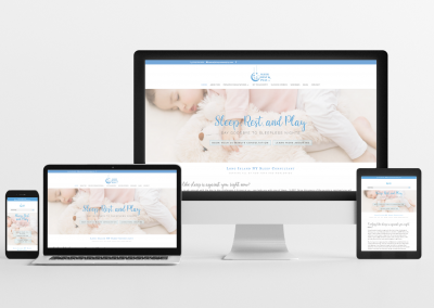 Sleep, Rest & Play – Sleep Consulting Website Design