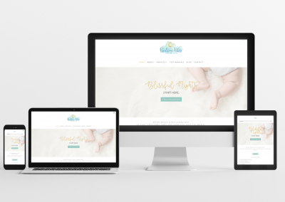Bedtime Bliss – Sleep Consulting Website Design