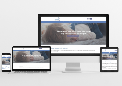Melissa Doman Sleep Consulting – Sleep Consulting Website Design