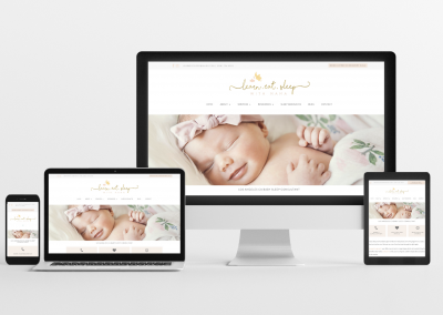Learn, Eat, Sleep – Sleep Consulting Website Design