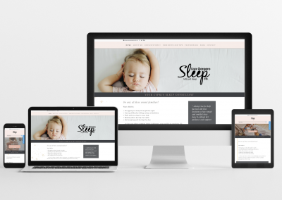 Lisa Gargaro Sleep Co – Sleep Consulting Website Design