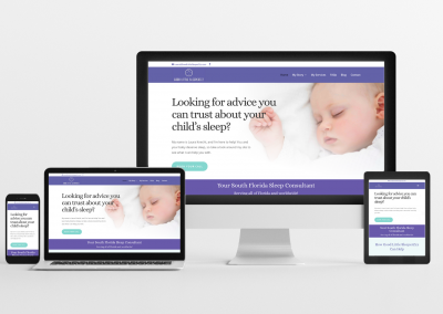 Good Little SleeperZzz – Sleep Consulting Website Design