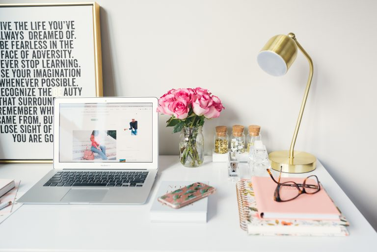 desk view - Capstone Digital Marketing