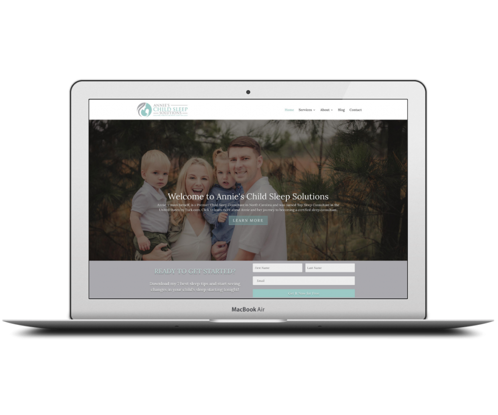 Annie homepage - Capstone Digital Marketing