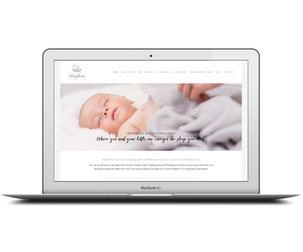 Sleepyhead homepage - Capstone Digital Marketing
